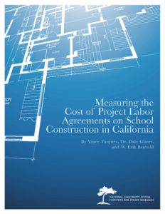 Yes, Project Labor Agreements Increase Costs of School Construction